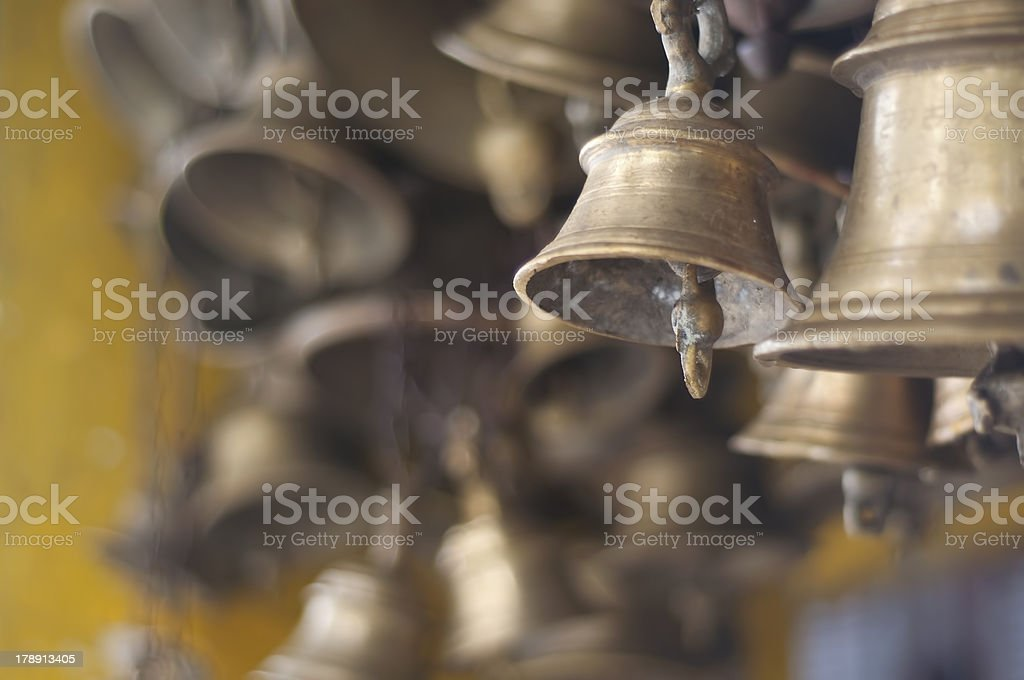 Temple's Bells stock photo