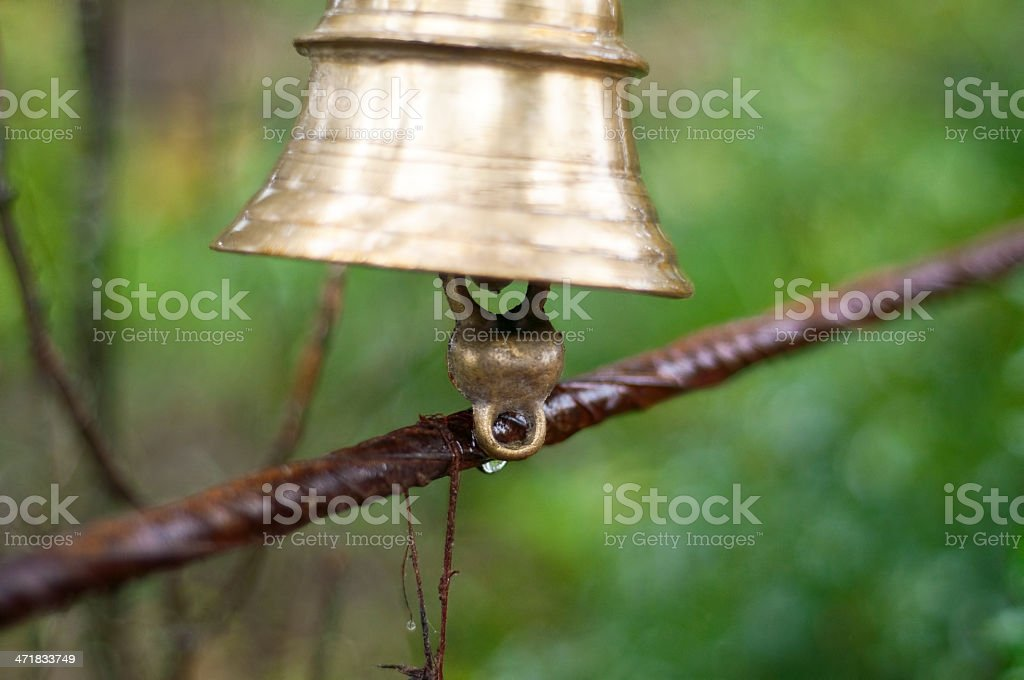 Temple's Bells stock photo