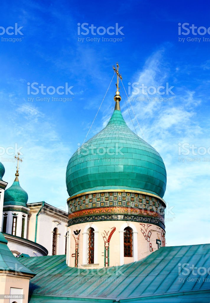 Temples dome stock photo