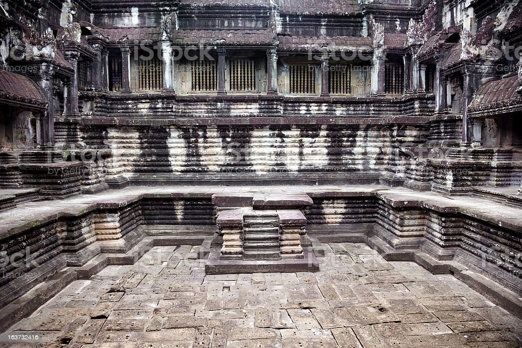 Temples of Angkor royalty-free stock photo