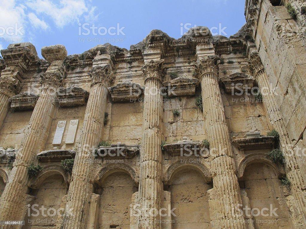 templo de baccus stock photo
