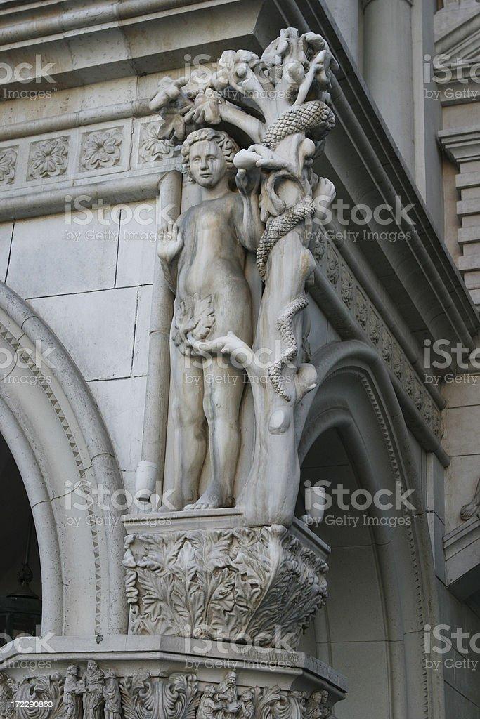 Temptation of Man royalty-free stock photo