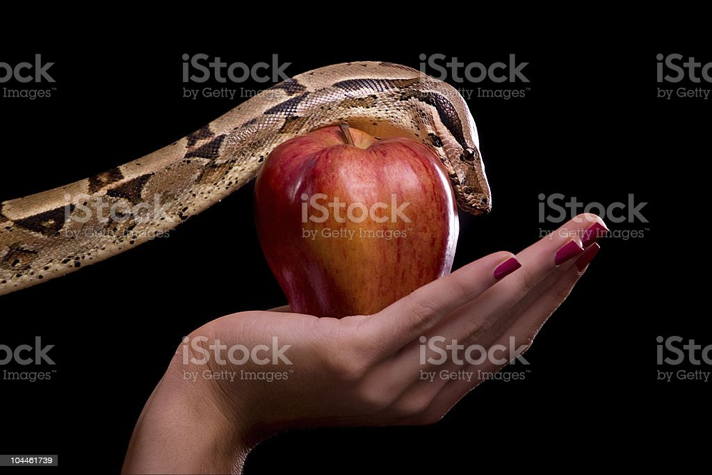 Temptation stock photo
