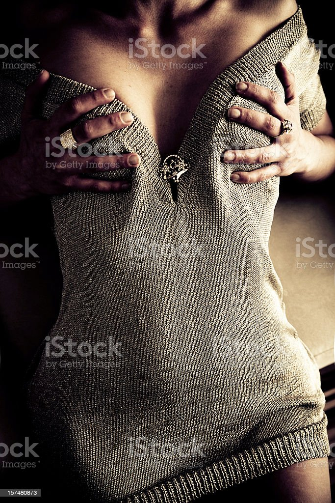 Temptation royalty-free stock photo