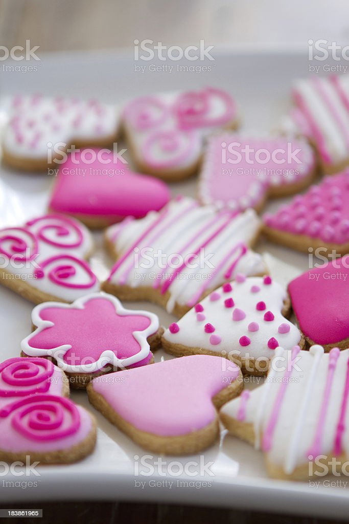 Tempting ornate cookies royalty-free stock photo
