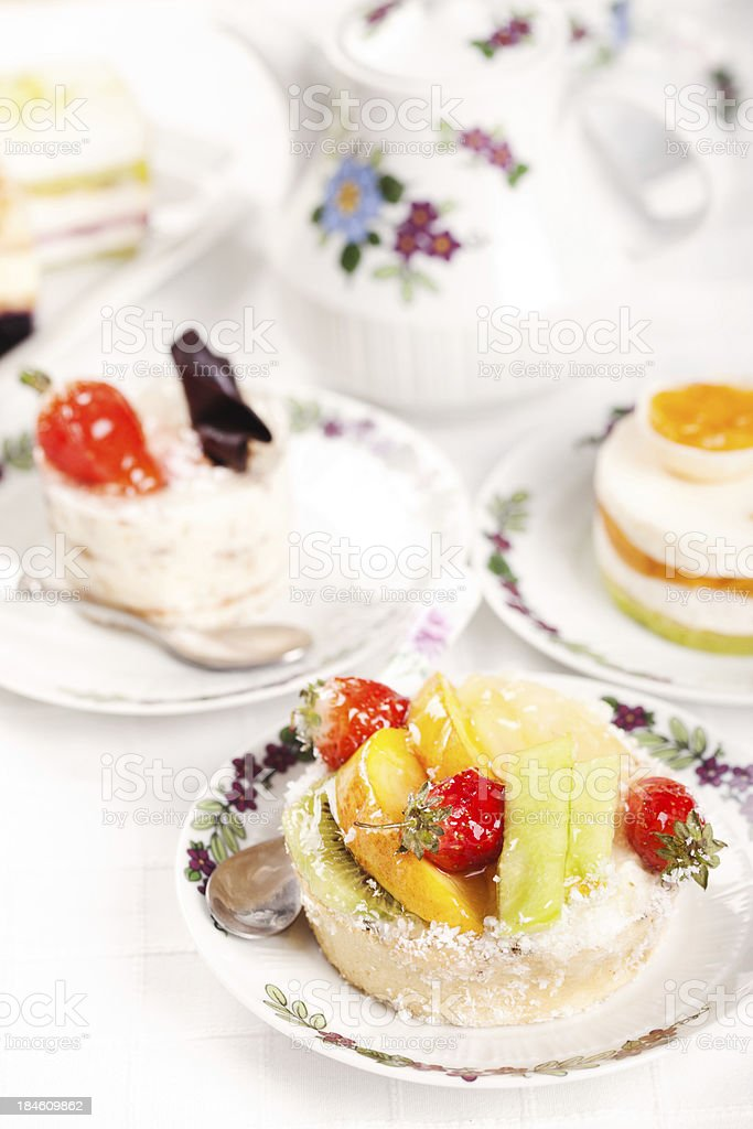 Tempting pie royalty-free stock photo