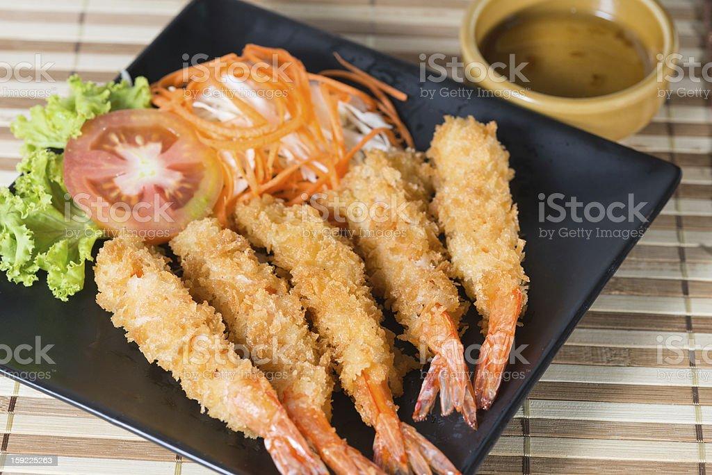 Tempura Shrimp stock photo