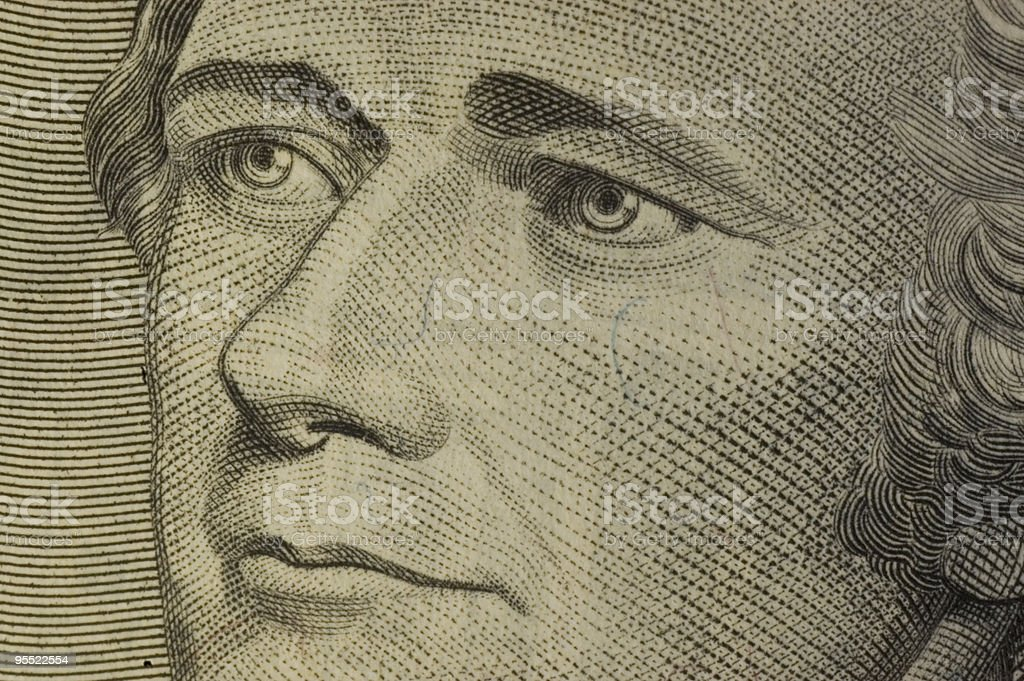 Ten Dollar Bill royalty-free stock photo