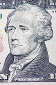 Ten dollar note detail