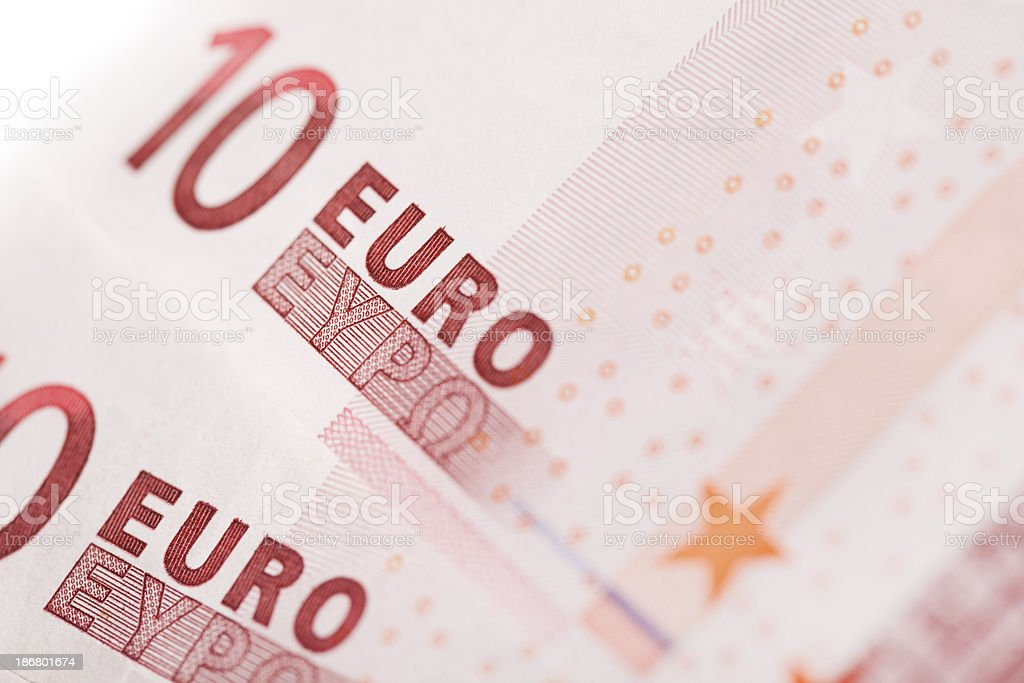 Ten Euro Banknote royalty-free stock photo