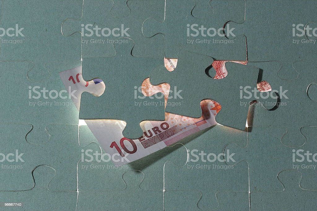 Ten Euro royalty-free stock photo