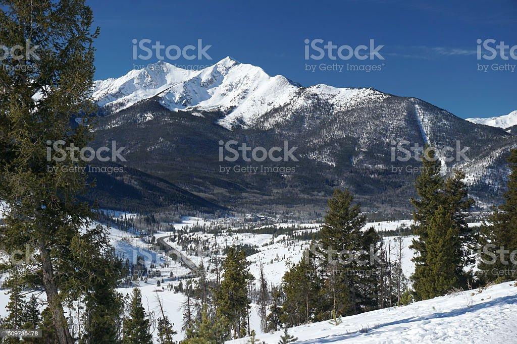 Ten Mile Range stock photo