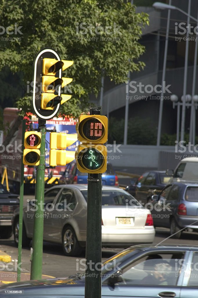 ten seconds to cross royalty-free stock photo