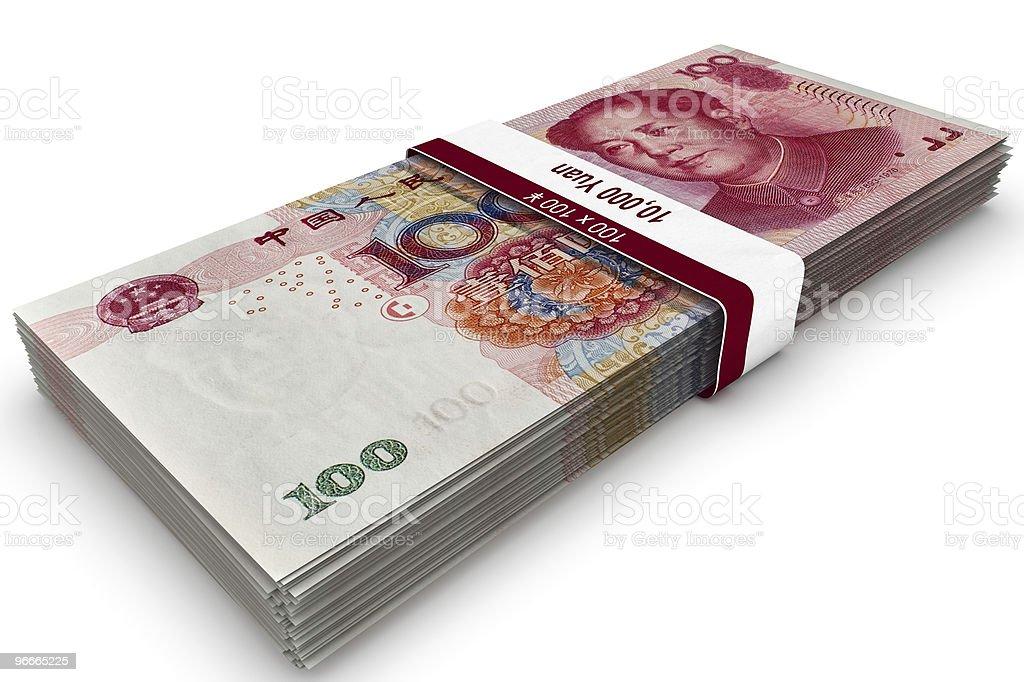 Ten Thousand Yuan stock photo