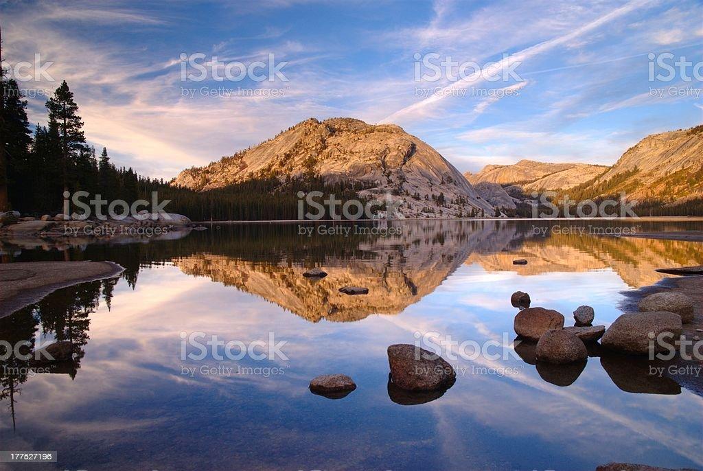 Tenaya Lake stock photo