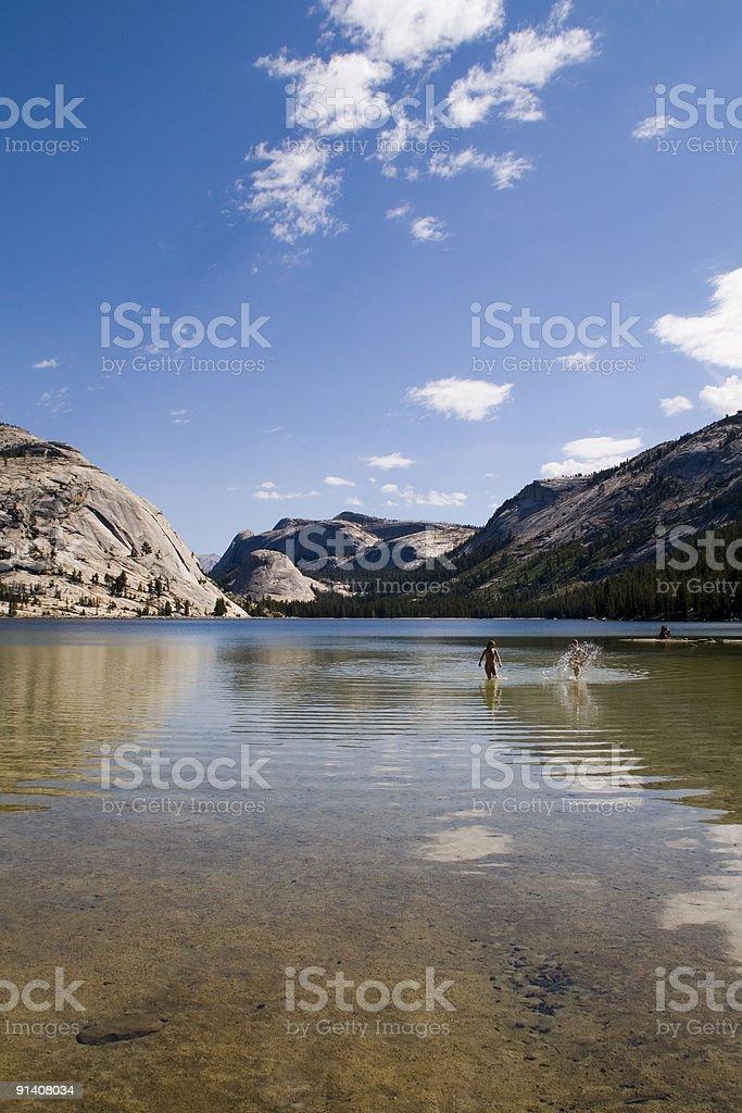 Tenaya Lake royalty-free stock photo