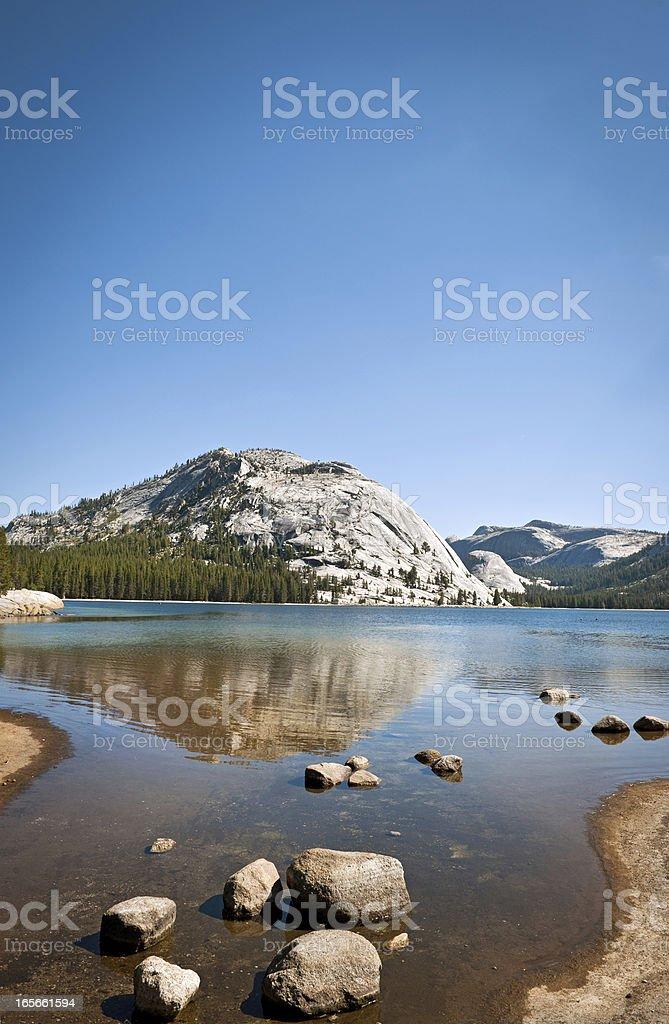 Tenaya Lake, Yosemite, USA stock photo