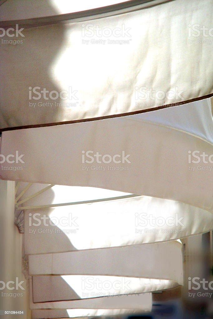 tenda da sole stock photo