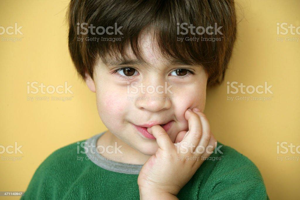 Tender kid royalty-free stock photo