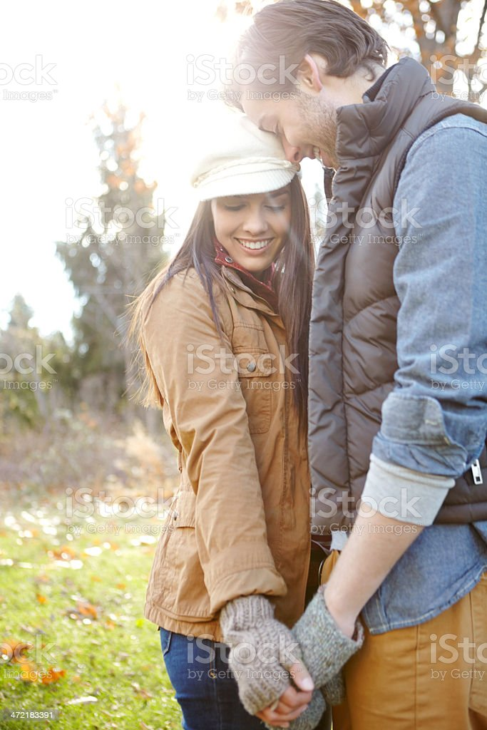 Tender love royalty-free stock photo
