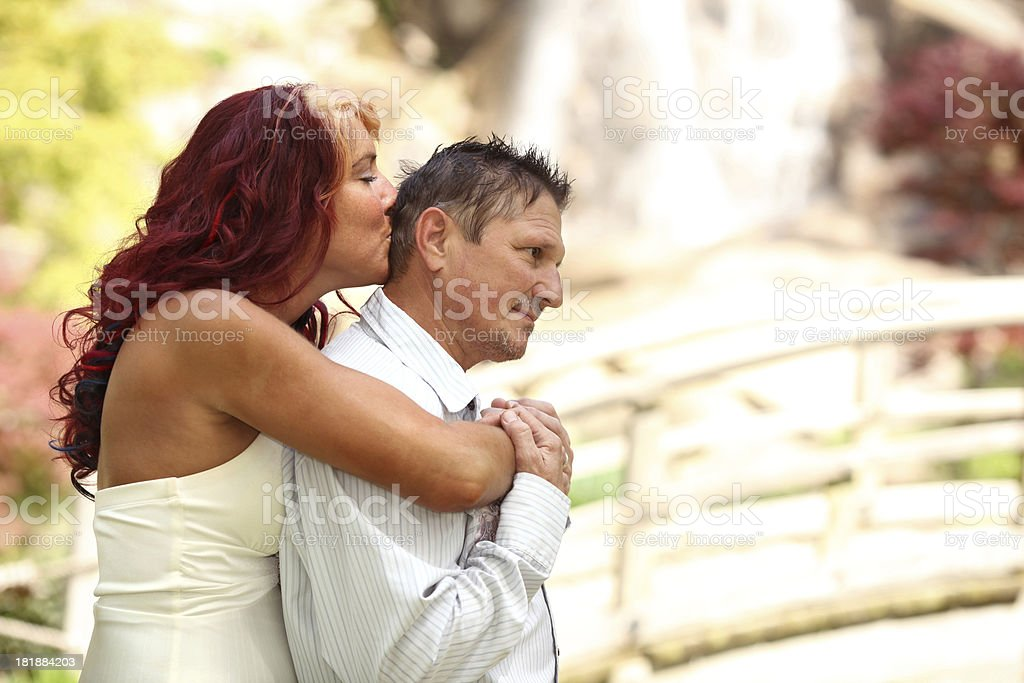 Tender Moment royalty-free stock photo