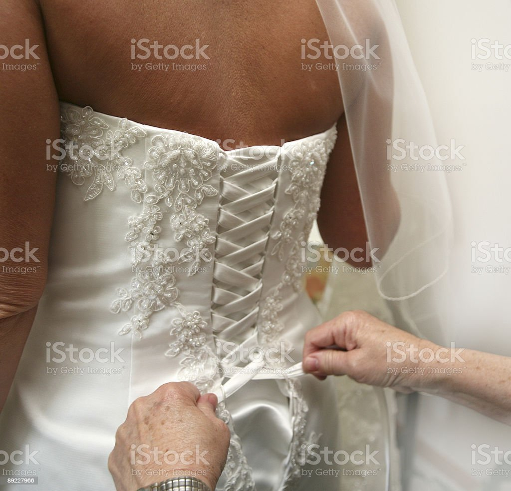 tender tieing royalty-free stock photo
