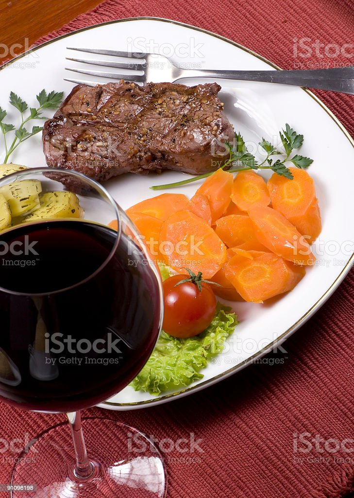Tenderloin Steak 011 royalty-free stock photo
