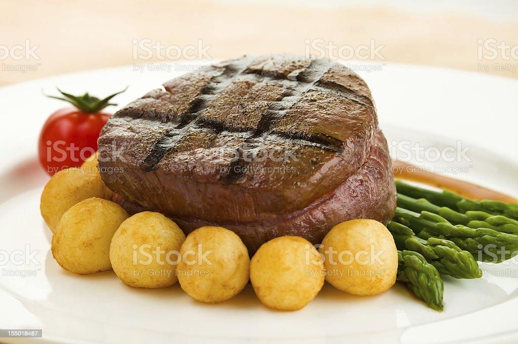 Tenderloin steak royalty-free stock photo