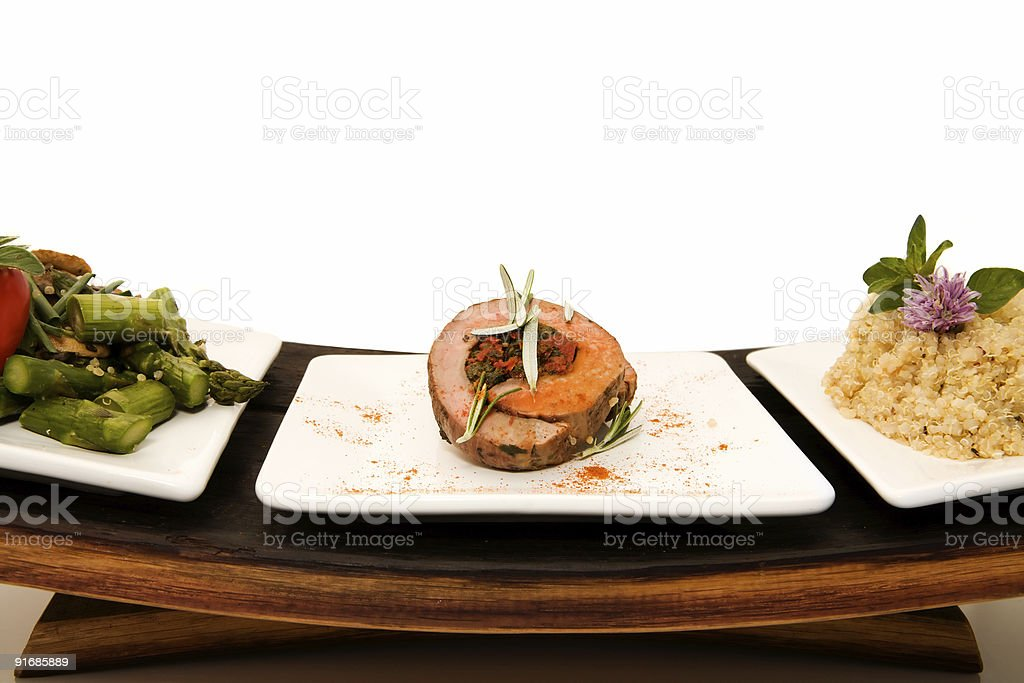 Tenderloin Wrap royalty-free stock photo