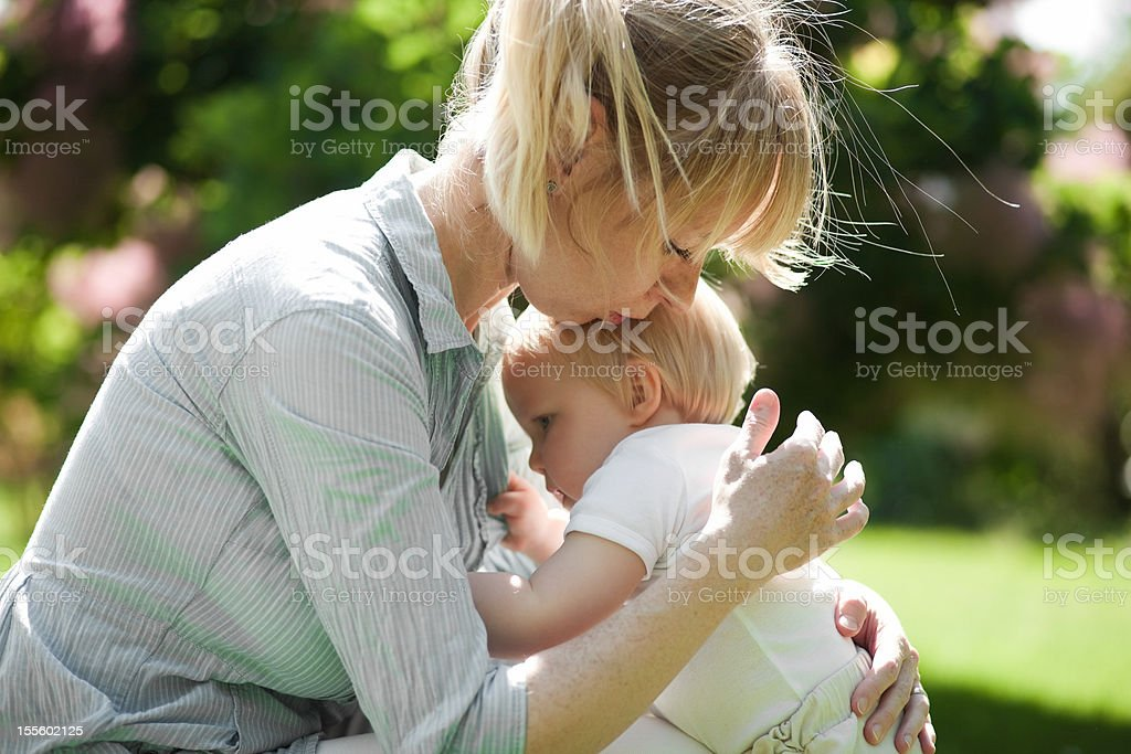 tenderness royalty-free stock photo