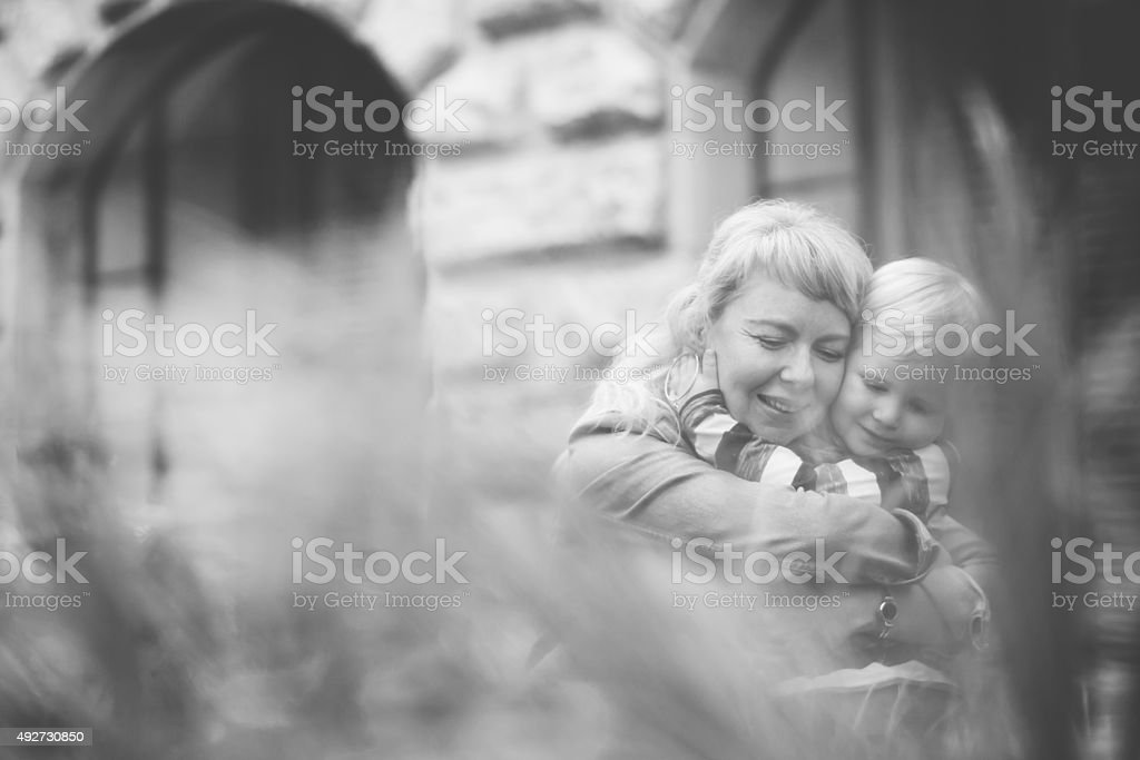 tenderness stock photo