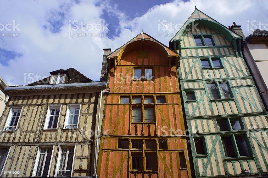 tenement house stock photo