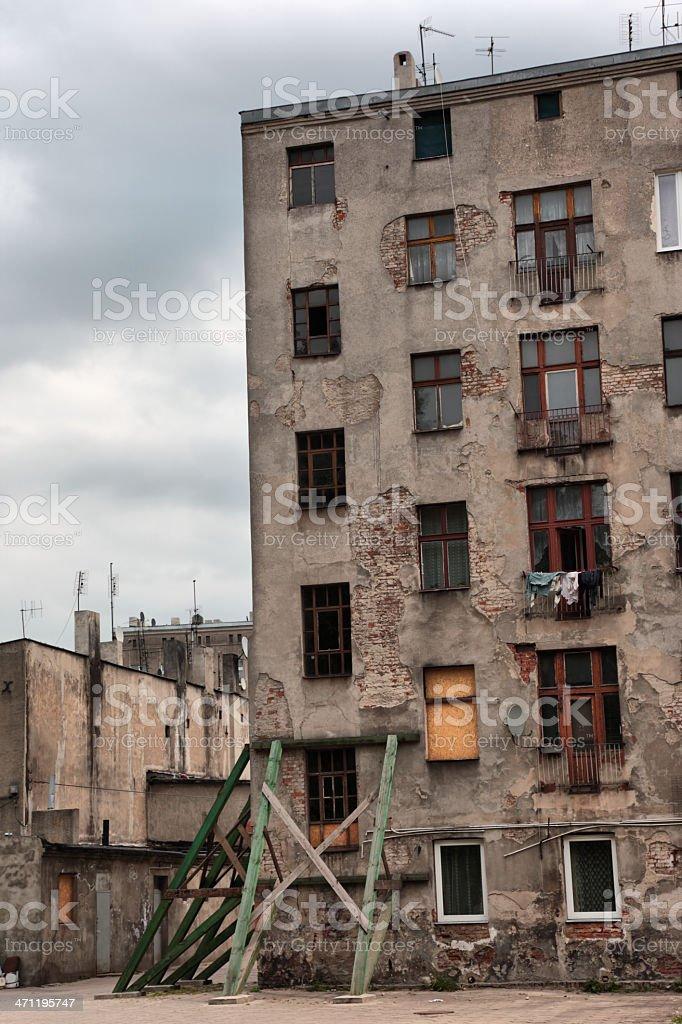 Tenement royalty-free stock photo