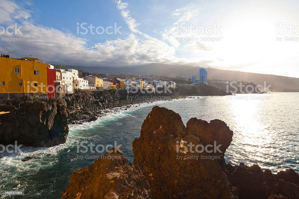 Tenerife, Canary Islands, Puerto de la Cruz, Spain royalty-free stock photo