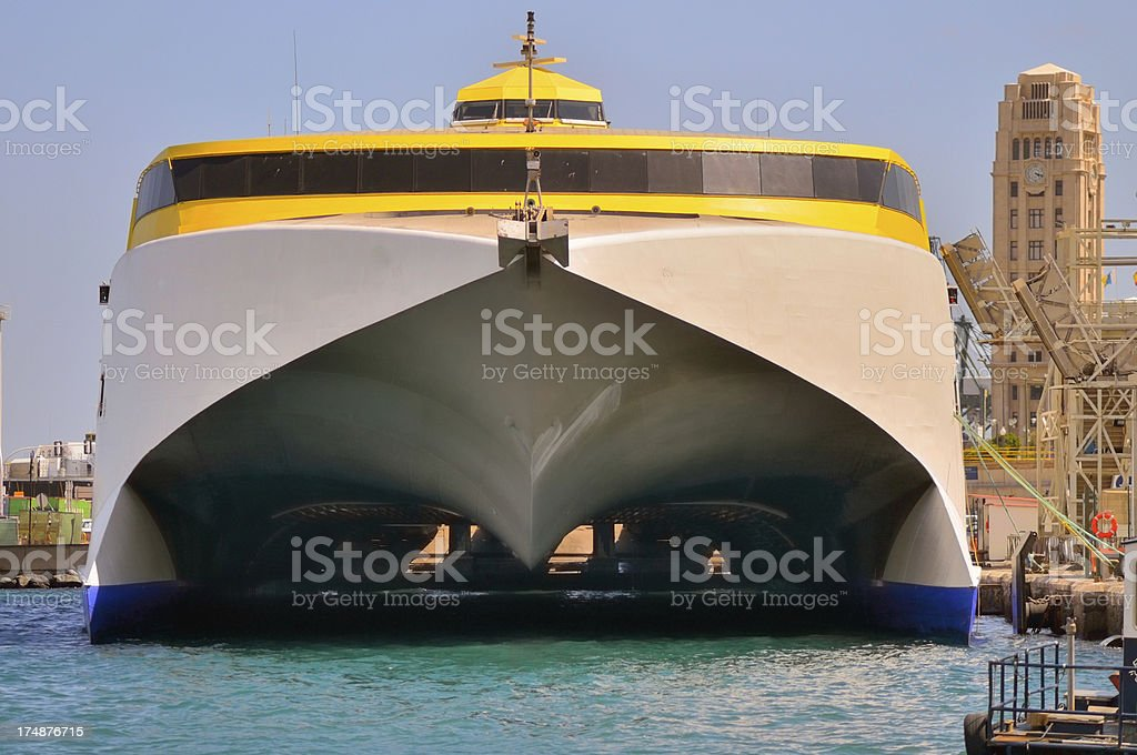 Tenerife Catamaran royalty-free stock photo