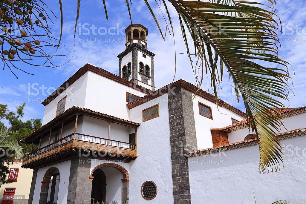 Tenerife landmark stock photo