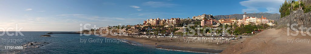 Tenerife Panorama landscape stock photo