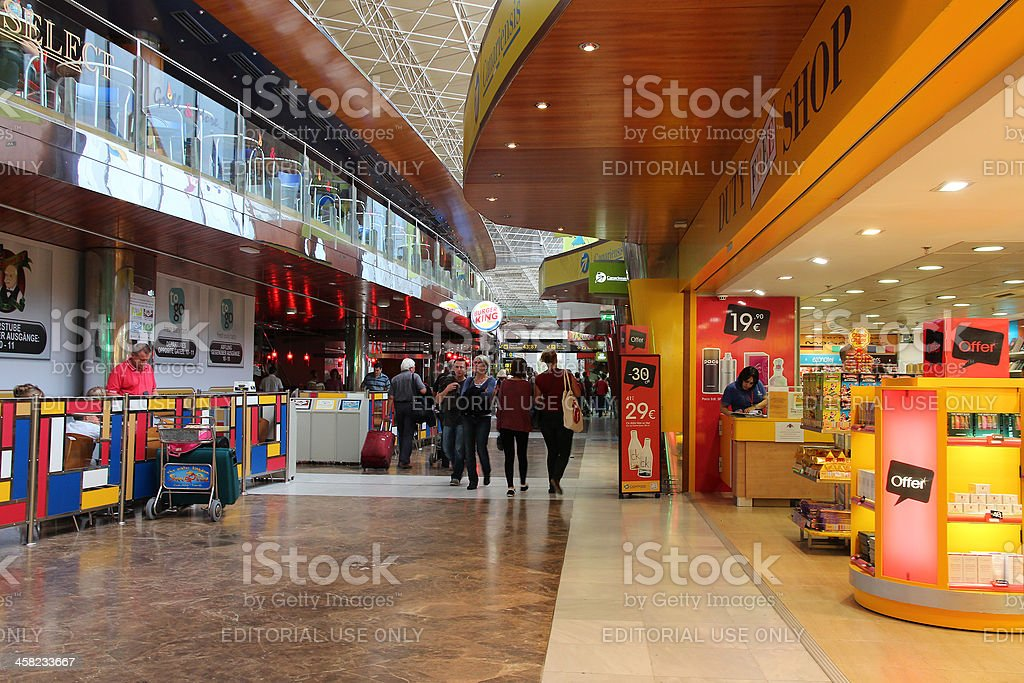 Tenerife South airport royalty-free stock photo