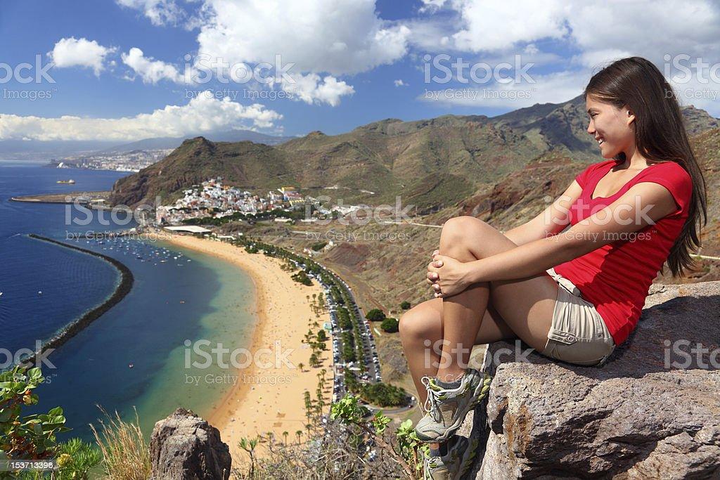 Tenerife Traveler royalty-free stock photo