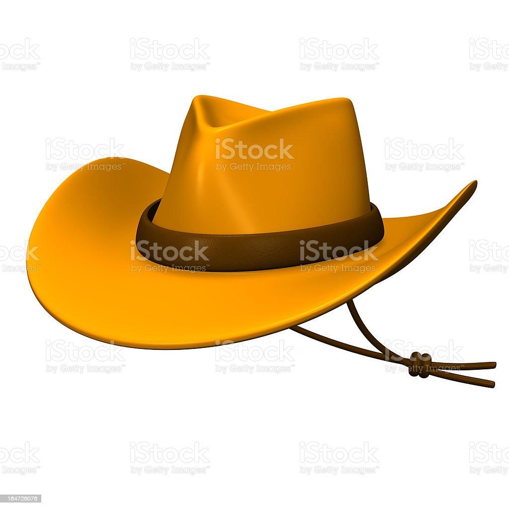 Ten-gallon Hat royalty-free stock photo