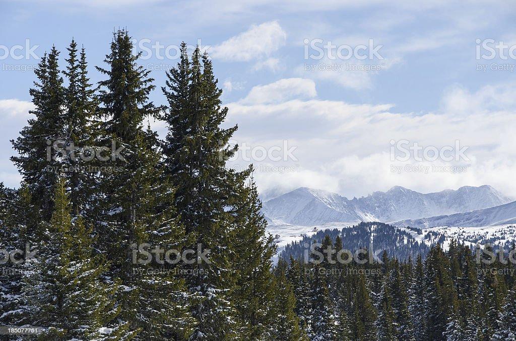 Tenmile Range Colorado stock photo