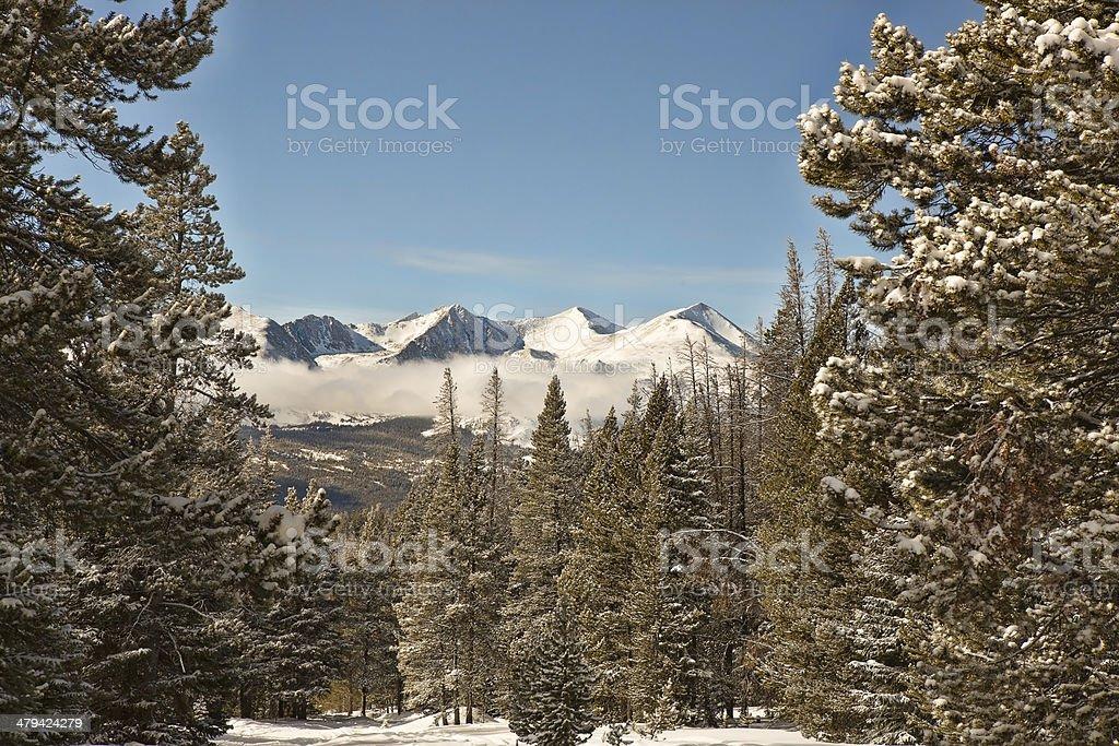 Tenmile Range stock photo