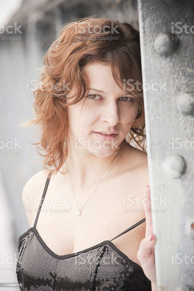 Tennager girl royalty-free stock photo