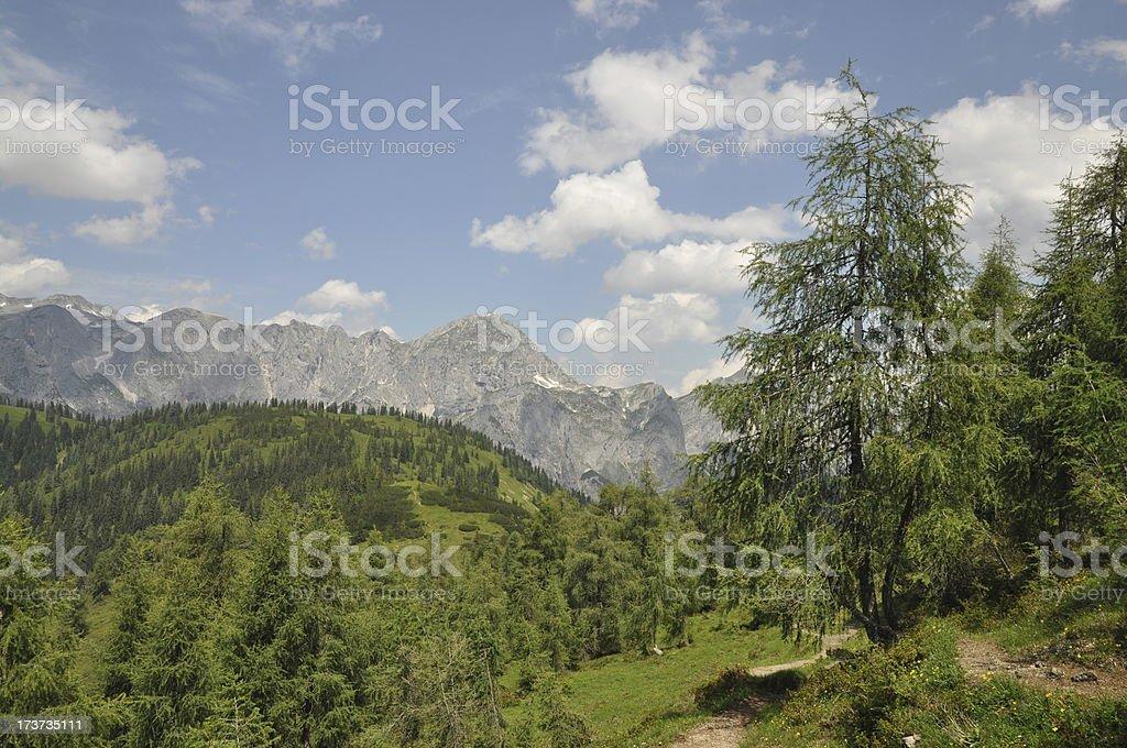 Tennengebirge, Austria stock photo