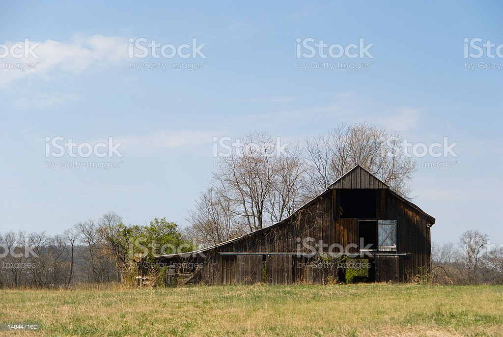 Tennessee Barn royalty-free stock photo