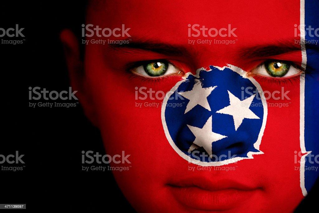 Tennessee boy stock photo