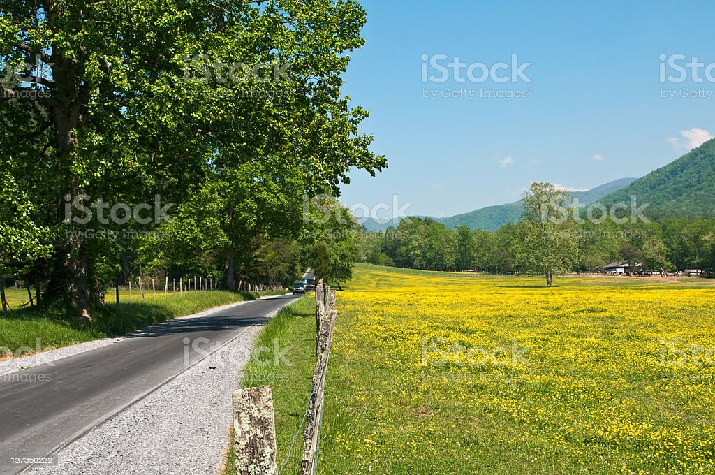 Tennessee Byway royalty-free stock photo