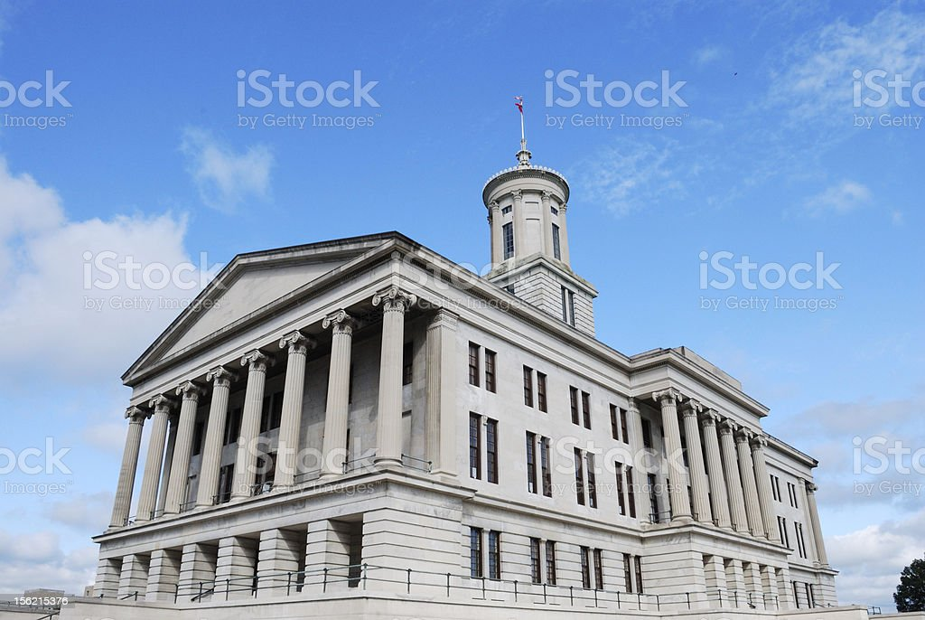 Tennessee Capital Building stock photo