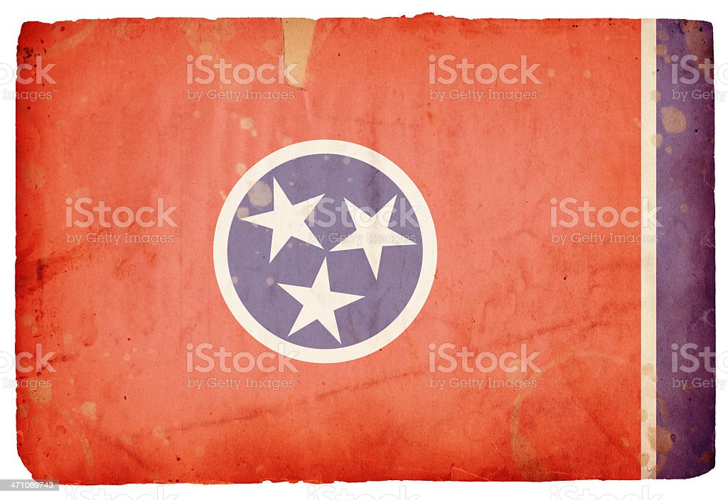 Tennessee Flag XXXL stock photo