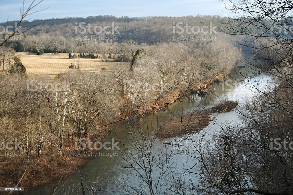 Tennessee Hills royalty-free stock photo